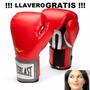 Everlast Pro Style Guantes Box Rojos 12oz Llavero Gratis
