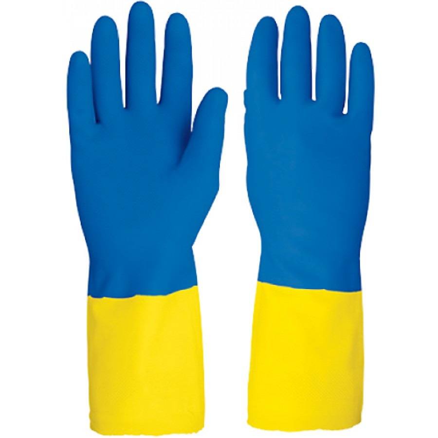 Guantes de latex en