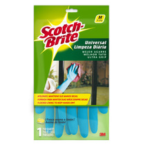 Guantes Latex Limpieza Diaria Mediano Scotch Brite 3m