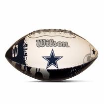 Balón Junior Wilson Dallas Nfl Logo Team Ug_varios Modelos