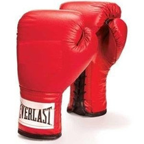 Tb Guantes Everlast Leather Boxing Gloves - 1 Pair