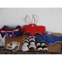 Equipo Para Taekwondo Peto Espinilleras Protector #a124