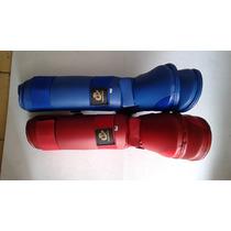 Espinilleras Para Karate Kastell Excelentes Materiales