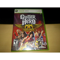 Guitar Hero Aerosmith Para Xbox 360