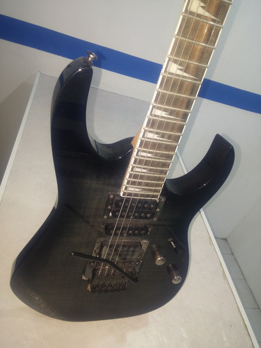 Guitarra Ibanez Rg Gris Pastillas Infinity Rg370fmz-tgb