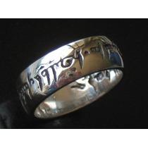 The Lord Of The Ring Señor De Los Anillos En Plata Ley.925