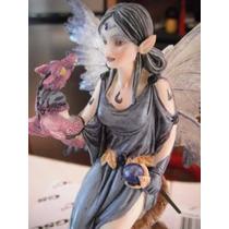 Evil Dark Fairy Dragon Charmer Hada Obscura Fantasia Magia