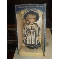 Muñeca Porcelana Colección Mundial Barbara Lee