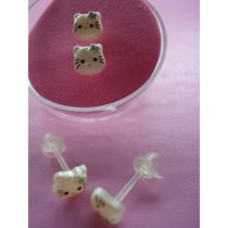 Aretes Hello Kitty Hermosos Tiernos D Resina Cute