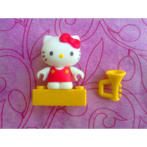 Hello Kitty Con Trompeta Miniatura Megablock Serie 1