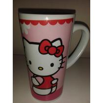 Taza Rosa Hello Kitty Grande! Fiesta, Dulcero, Recuerdo