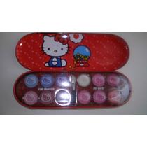 Lapicera Hello Kitty Sombras, Brillos Labiales! Nuevo