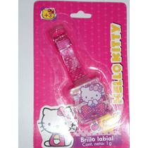 Hello Kitty Brillos Labiales - Reloj Con Brillo Labial -