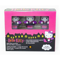 Hello Kitty Vampira Juego De 8 Luces Parpadeantes Decoracion