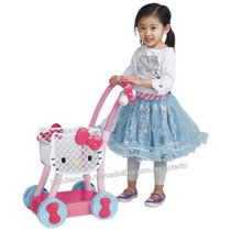 Hello Kitty Carrito De Super P/tu Pequeña Precioso ! +3 Años