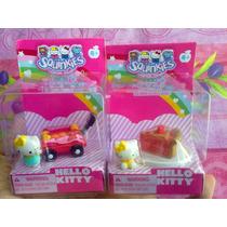 Hello Kitty Actividad Squinkies Figuras Miniatura Modelos 3