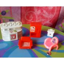 Hello Kitty 1970s Set De Muebles De Los 1ros Que Salieron