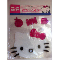 Hello Kitty, Stickers De Gel, Para Cristales, Original