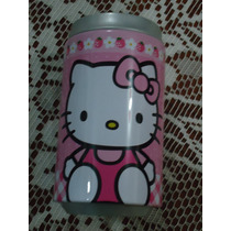 Alcancia Tipo Lata D Refresco Hello Kitty By Sanrio Rosada