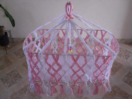 Hermosa hamaca para bebes hecha a mano en mercadolibre - Precio de hamacas para bebes ...