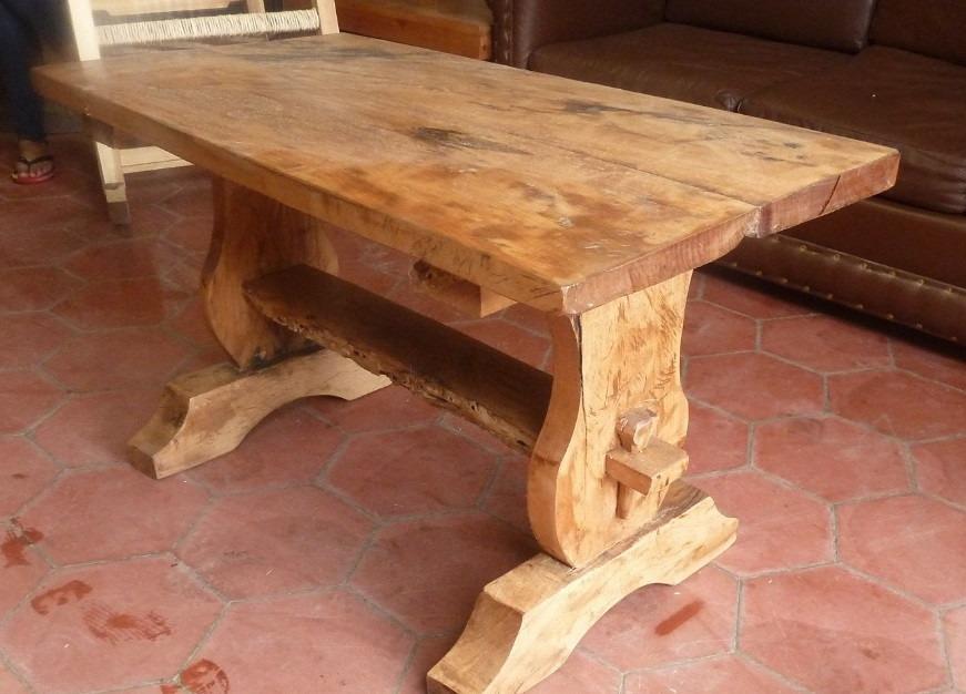 Hermosa mesa de centro madera de mezquite envio gratis - Mesas de centro de madera ...