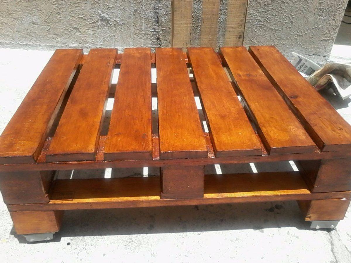 Muebles para tv de madera reciclada for Muebles hechos con melamina