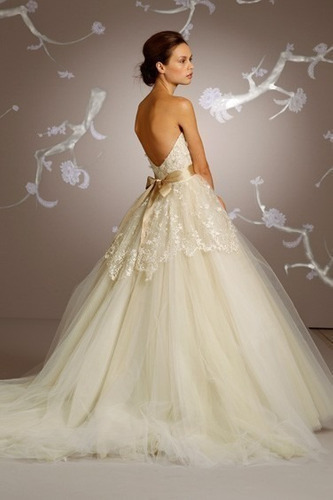 Hermosos vestidos de Novia Cortos -