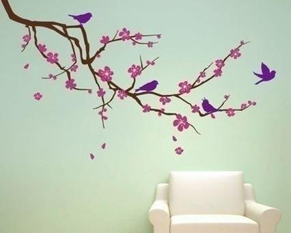 Hermosos vinilos decorativos de ramas 1 en for Donde encontrar vinilos decorativos