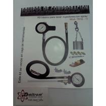 Kit Basico Para Lavar Inyectores Y Manometro Presion Bomba