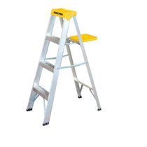 Oferta Escalera Aluminio 3 Peldaños Capacidad 90 Kg Et3 Mn4