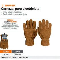 Guantes De Carnaza Para Electricista