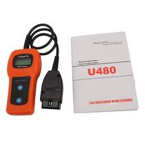 Tb Scanner New U480 Can-bus Obdii Car Diagnostic