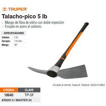 Talacho-pico 5 Lbs Mango Fibra De Vidrio 36