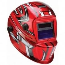 Casco Para Soldar Electrónica Roja