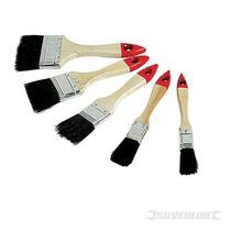 Cepillo De Pintura - 5pc Silverline Desechables Paquete Set