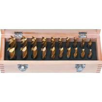 20 Brocas M2 Hss Sierra Corte 2 Y 4 Filos Milling Cnc Router