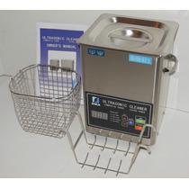 Tina Limpieza 3.1 Litros Calentador Frecuencia 20-40 Khz