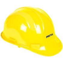 Casco De Seguridad Color Amarillo Pretul