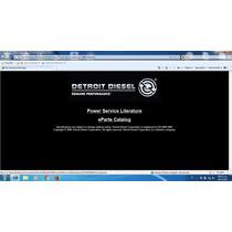Detroit Diesel Power Service Literature + Eparts Catalog