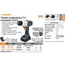 Taladro Inalambrico 14.4v 3/8 Iindustrial