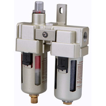 Filtro Aire Doble Humedad Agua Y Aceite Para Compresor