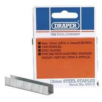 Grapas - Draper 62019 12mm De Acero (1000) Herramientas De G