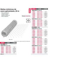 Malla Ciclonica 63x63 Cal 11 1x20m