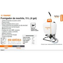 Fumigador De Mochila. 15 Lts