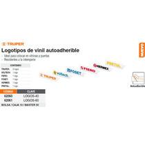 Juego De Logos A Recorte De Vinil60 Cm