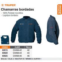 Chamarra Con Logo 100% Poliester Talla 44