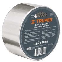 Cinta Adhesiva Termica De Aluminio 9 Metros Truper 12588