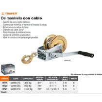 Malacate Con Cable De 910 Kg