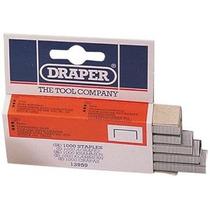 Grapas - Draper 13959 6mm De Acero - Caja De 1,000 Pistola D