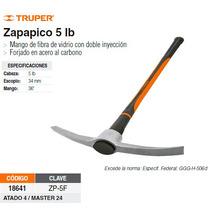 Zapapico 5 Lbs Mango Fibra De Vidrio 36